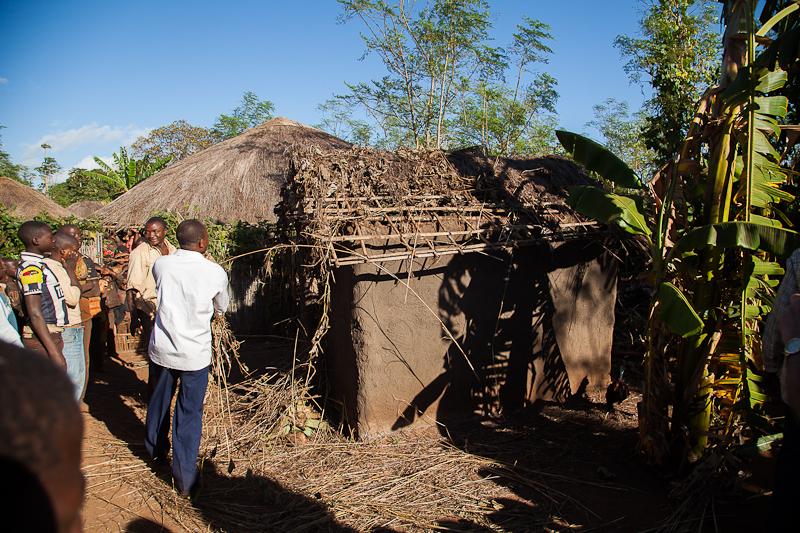 Ripping hut apart