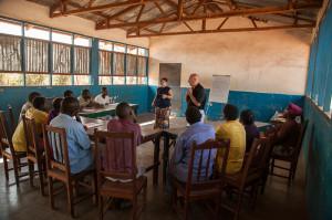 Awana teaching teachers.